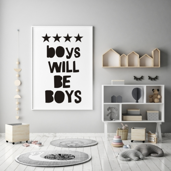 Plakat Boys Will Be Boys